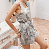 Picture of Sleeveless Printed Romper